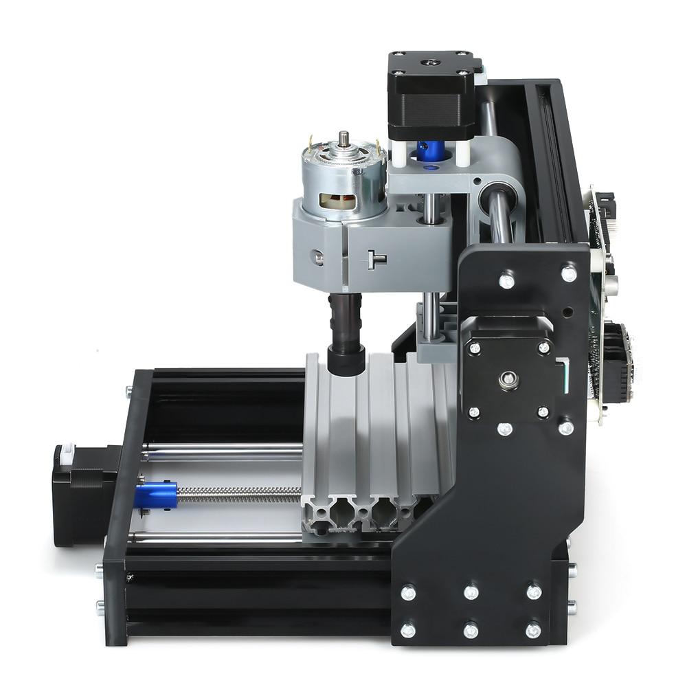 Bureau bricolage Mini 1610 Pro CNC sculpture Machine 3 axes petite Machine de gravure GRBL contrôle Mini CNC Machine CNC graveur