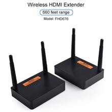 Measy FHD676 5.8GHz/2.4GHzไร้สายHD Extenderเครื่องส่งสัญญาณFull HD 1080P @ 60Hz 200วิดีโอเสียงเครื่องรับสัญญาณ