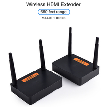 Measy FHD676 5.8GHz/2.4GHz אלחוטי HD Extender שולח משדר מלא HD 1080p @ 60Hz 200m אודיו וידאו שידור מקלט