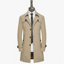 2019 Spring New High Quality Trench Coat Homme