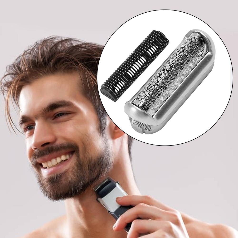 Shaver Razor Head Foil Frame For BRAUN P40 P50 P60 P70 P80 P90 M90s 5608 5609 Poleet Replacement Blate Frame Beard Tools