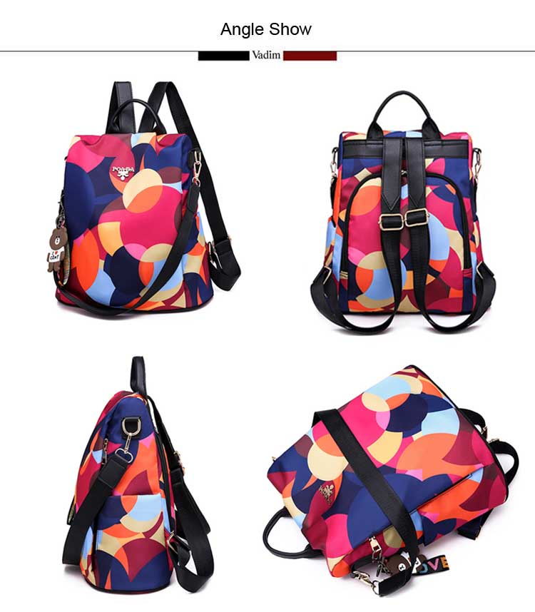 Ha4734a279271429baa0d7470d9748305b - Vadim New Fashion Women Backpacks  Waterproof Oxford Backpack Female Anti Theft Bagpacks School Bags for Girls Mochila Mujer