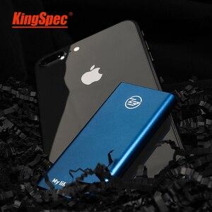 Image 3 - Kingspec Externe SSD 512gb USB 3.1 500gb Tragbare Externe Festplatte Stick Typ c Solid State Disk USB 3.0 für laptop Destop