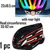 Cairbull ultraleve ciclismo capacete com viseira removível óculos de proteção da bicicleta lanterna traseira intergrally-moldado mountain road mtb capacetes 230g 10