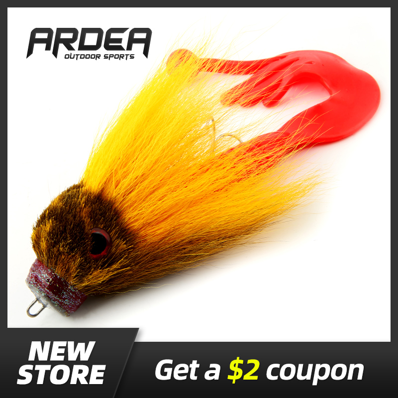 Handmade Big Pike Bait Fly Fishing Big Mouse Silicone Soft Fishing Lure Deer Hair Artificial Bait Resin Rat Catfish Black Bass