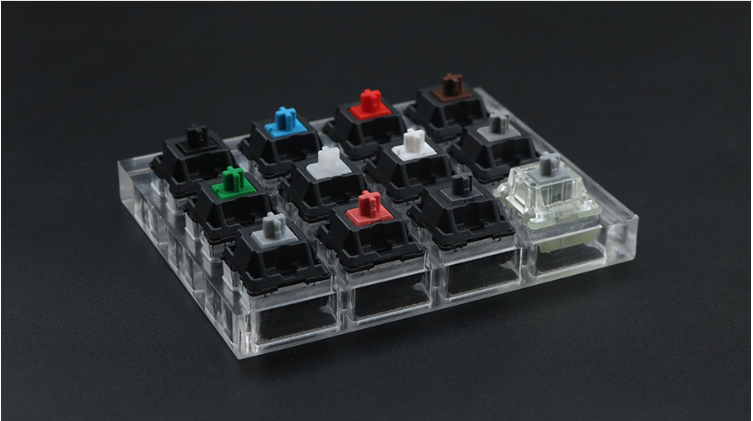 Cherry mx switch <font><b>tester</b></font> mx brown blue clear silver silent red switches testing <font><b>mechanical</b></font> <font><b>keyboard</b></font> test trial tool image