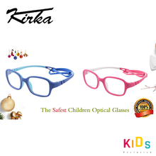 Kirka مرنة الاطفال النظارات الإطار TR90 الأطفال نظارات غير قابلة للكسر آمنة ضوء الفتيان الفتيات النظارات البصرية إطار نظارات الاطفال