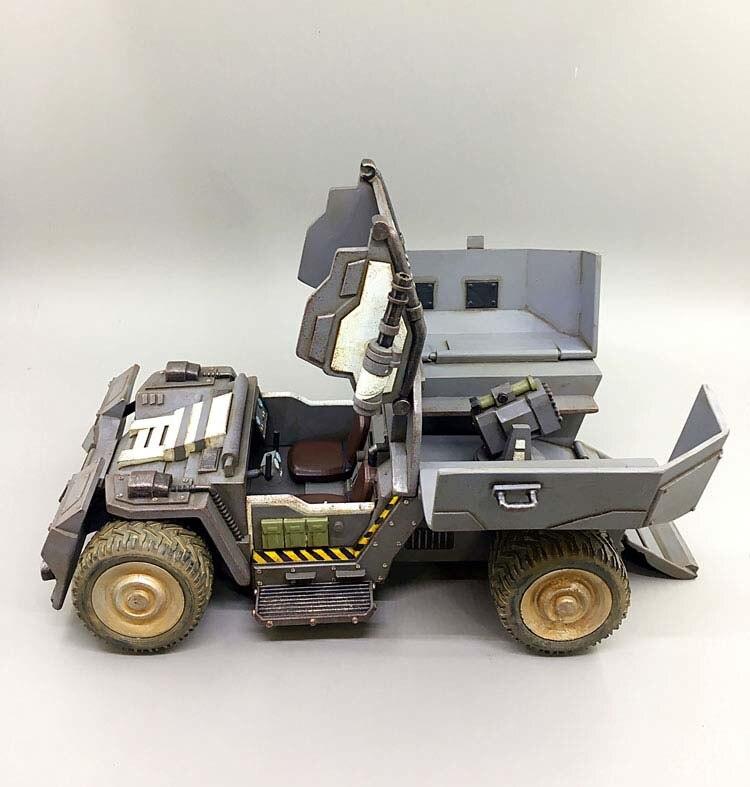 В наличии детские подарки 1/27 весы 21 см диких носорогов Скаут штурмовая машина модель грузового автомобиля для фанатов детские подарки - 3