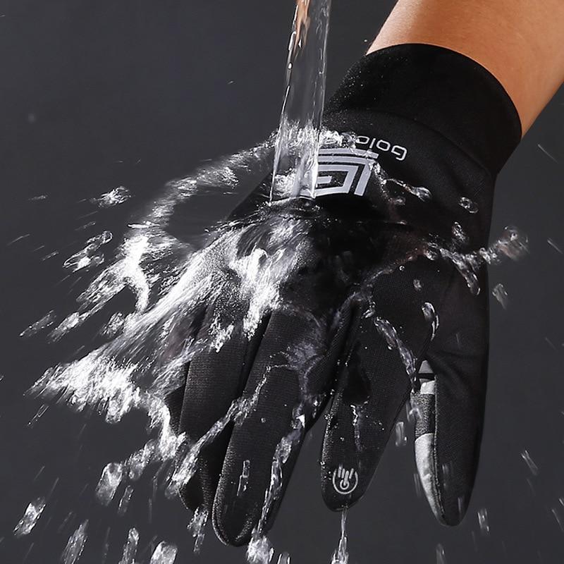 Дорожные велосипедные перчатки женские водонепроницаемые теплые