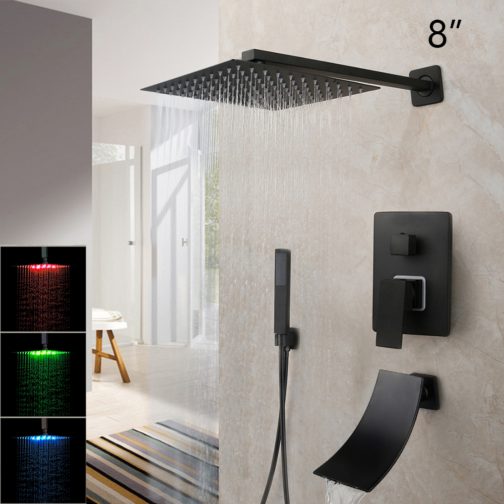 LED 8 Inch ShowerW1