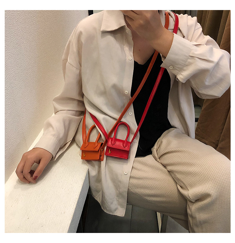 Brand Designer Solid Hand Bags Fashion New Hot Mini Crossbody Bag Tote Vintage Messenger Bags Purse Clutch Bag Hot New Bag