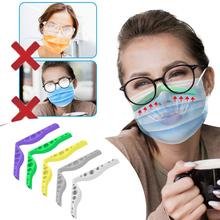 3D usta maska wsparcie nos most silikonowy uchwyt Anti-fogging okulary wielokrotnego użytku maska uchwyt modny i nowatorski Design tanie tanio CN (pochodzenie) Mask Holder Ochrona przed promieniowaniem UV