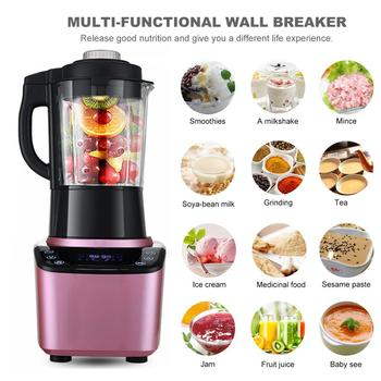 Multifunctional Blender Household Blender with Heating Element Full-Automatic Soybean Milk Machine Food Processor 398H 4
