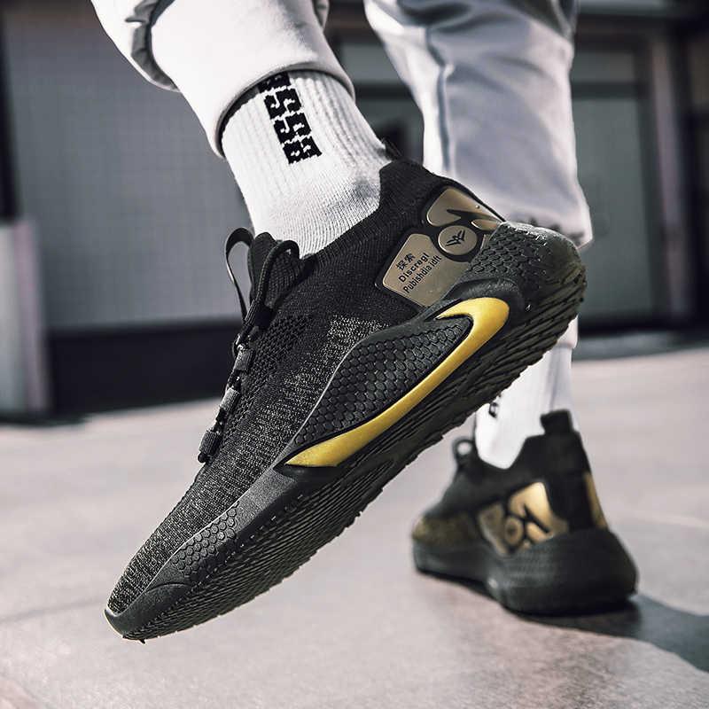 2020 Breathable Men's Running รองเท้าชายน้ำหนักเบากีฬารองเท้าผ้าใบกีฬารองเท้าวิ่งกลางแจ้งรองเท้าฟิตเนส AIR ตาข่าย