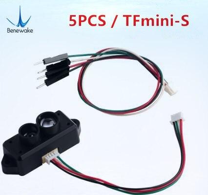 Variando para Arduino Atualizar Benewake Tfmini-s Lidar Range Finder Sensor Módulo Único Ponto Micro Pixhawk Drone Uart Iic 5 Pçs
