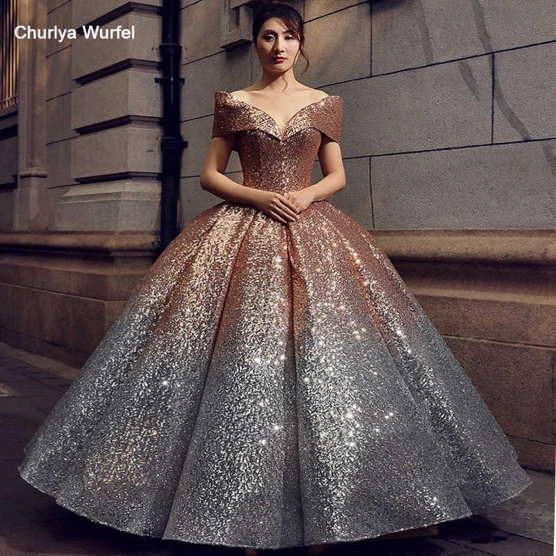 6965e6b94b1ff LSS074 ankle length wedding party dresses sexy one shoulder princess ...