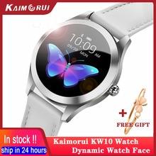 2020 kadın akıllı izle su geçirmez IP68 kalp hızı monitörü spor izci Smartwatch Android izle bağlamak Xiaomi Huawei için IOS