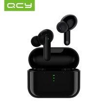 QCY T11 Hifi двойные драйверы Bluetooth TWS наушники беспроводные наушники с 4 микрофонами шумоизоляционные наушники с быстрой зарядкой