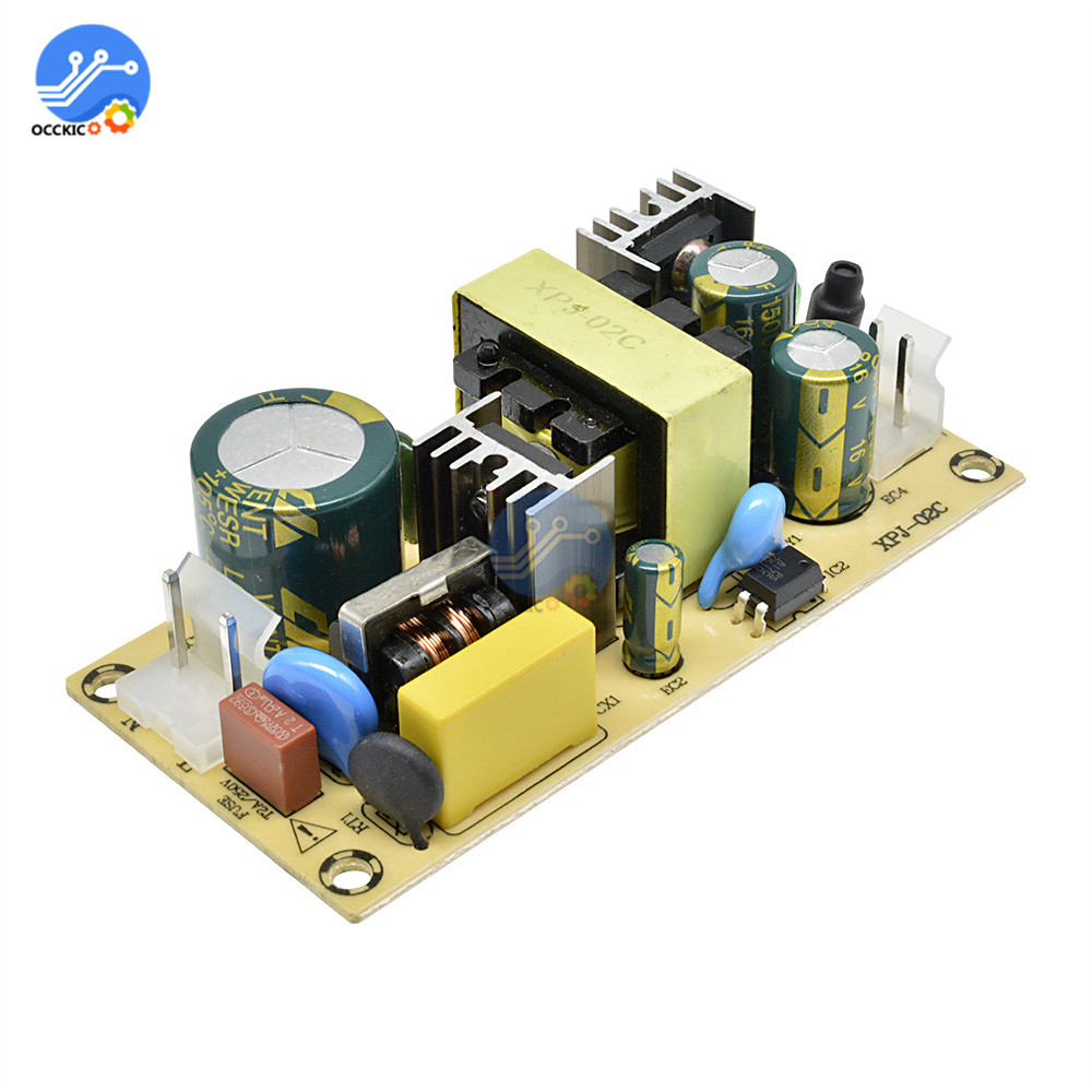 AC 100~240V To DC 24V DC 12V Switching Power Supply Module AC-DC Power Module 1.5A 3A 36W Overload Protection Circuit Board