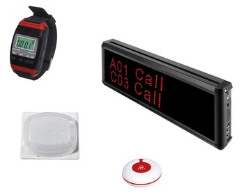 Nurse calling system 1pc watch pager 1pc screen central display 1pc room/bed call button 1 indicate light wireless hospi