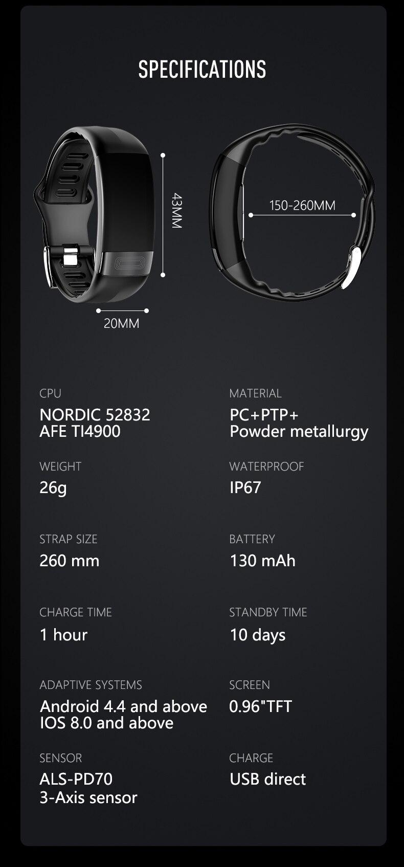 análise banda inteligente relógio