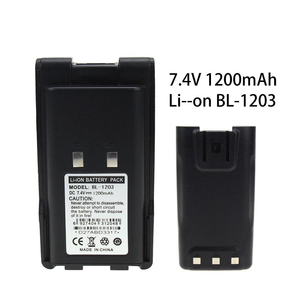 High Quality BL1203 Li-Ion Battery 1300mAh 7.4V Battery Extended For HYT TC600 TC-600
