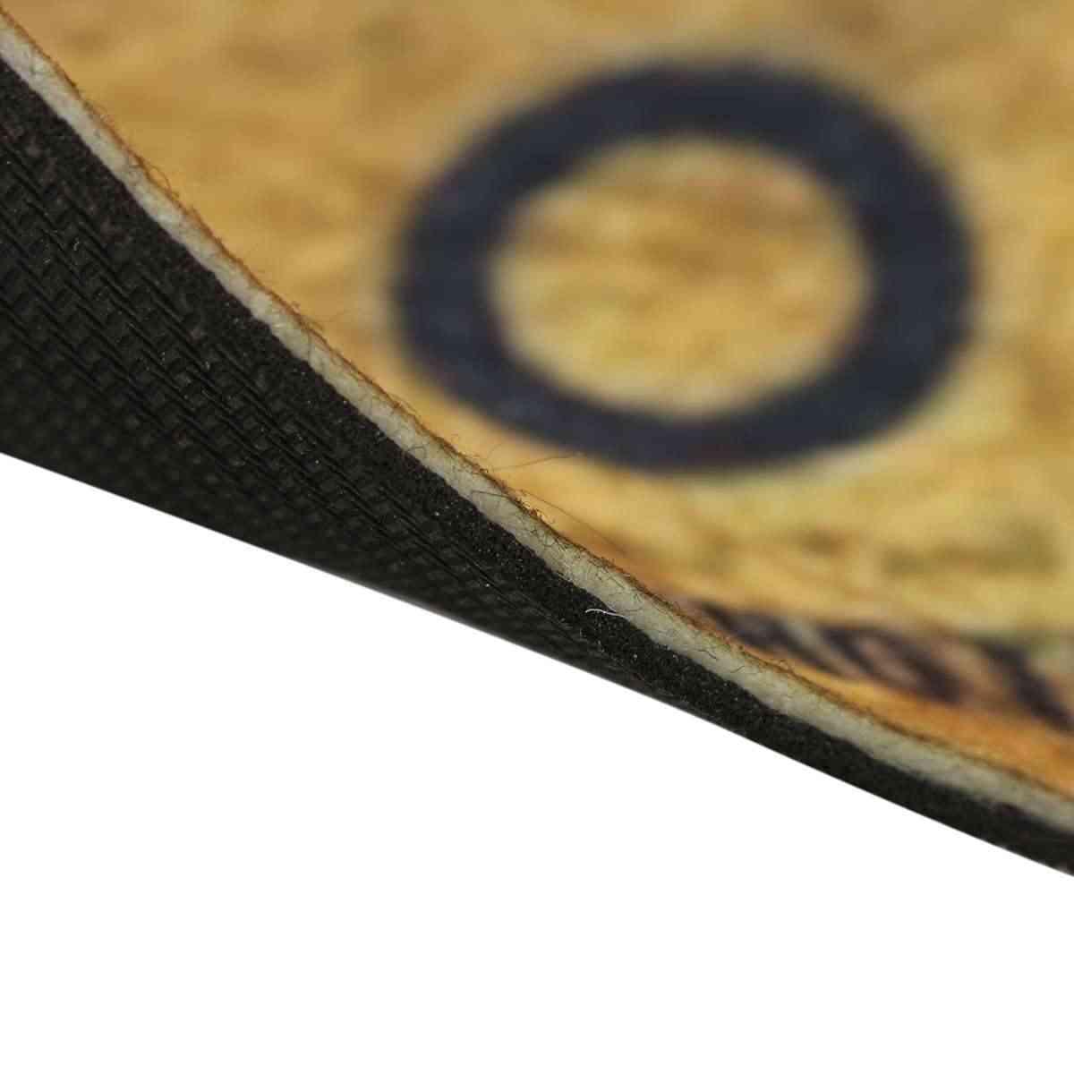 ウイジャ盤ポリエステル繊維ドアマットアートデザインパターンプリントカーペット階ホール寝室クールパッドノンスリップファッション敷物 2 サイズ
