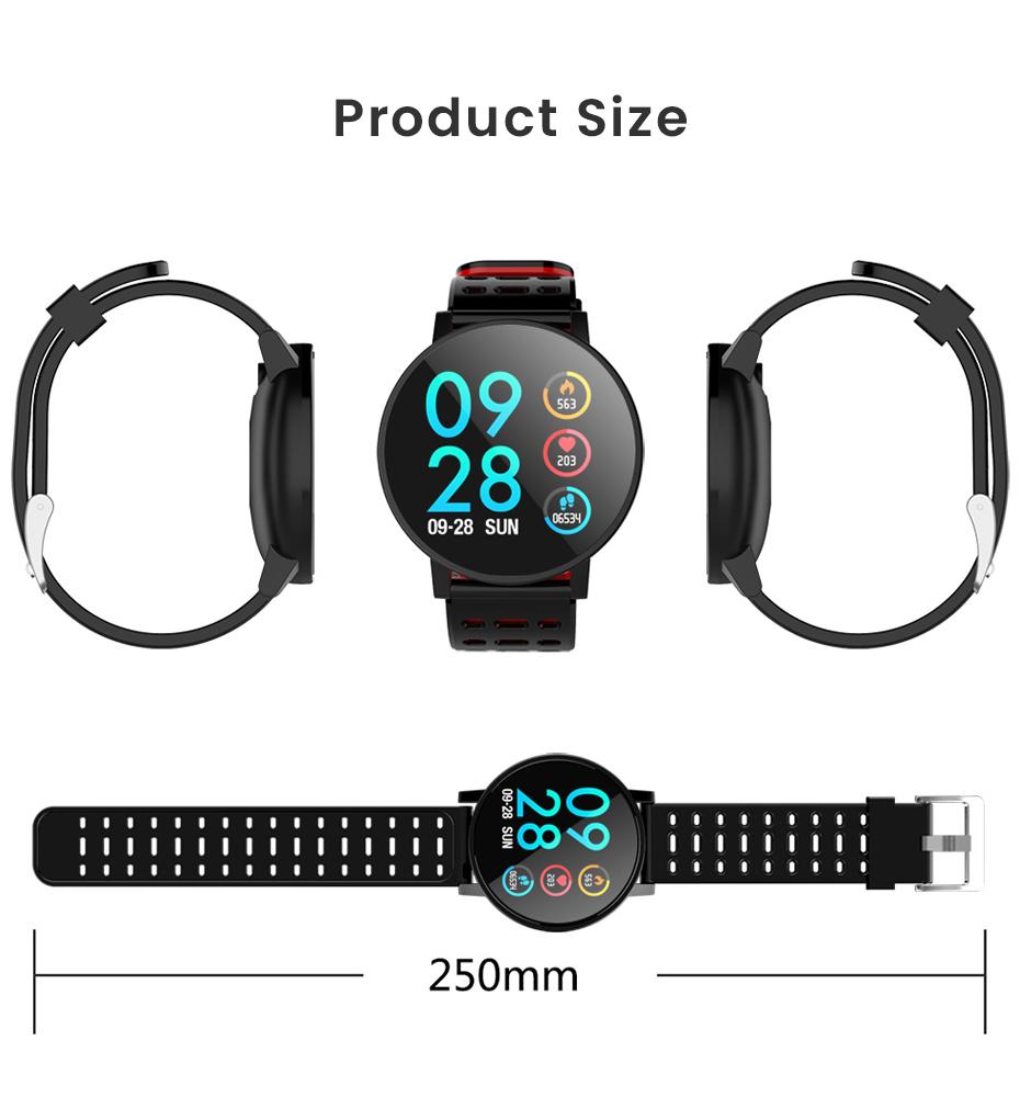 Makibes T3 IOS Android Smart Watches Men Women HR Blood Oxygen Blood Pressure IP67 Waterproof Activity Fitness Tracker PKV11 20
