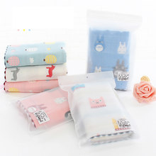 100% cotton gauze cotton children towel Hand Towel Home Cleaning Face for baby High Quality face towel bathroom towel(China)