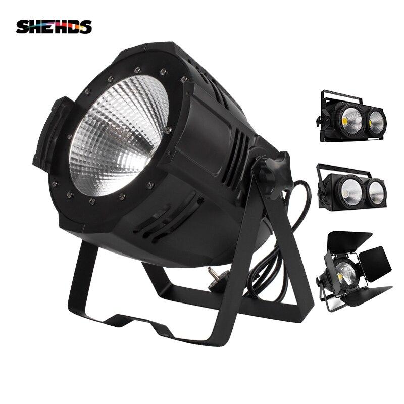 LED Par 100 W/200 W lampa cob z drzwiami stodoły Dmx Controll światła sceniczne na kabina dj'a Market Disco kościół/ogród efekt oświetlenia