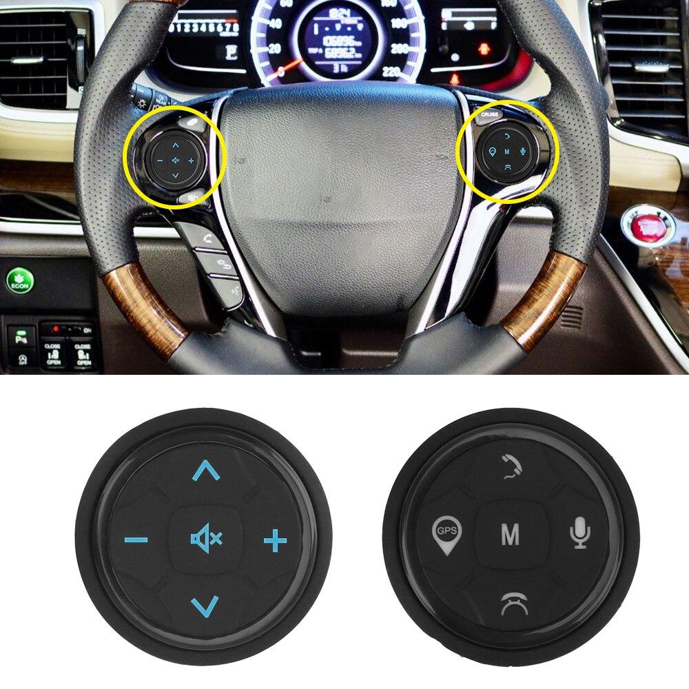 Control de volante de coche inalámbrico música GPS navegación Radio Control remoto botones 10 teclas Universal accesorios de coche Cargador USB para coche de carga rápida 3,0 4,0 Universal 18W carga rápida en coche 3 puertos cargador de teléfono móvil para samsung s10 iphone 11 7