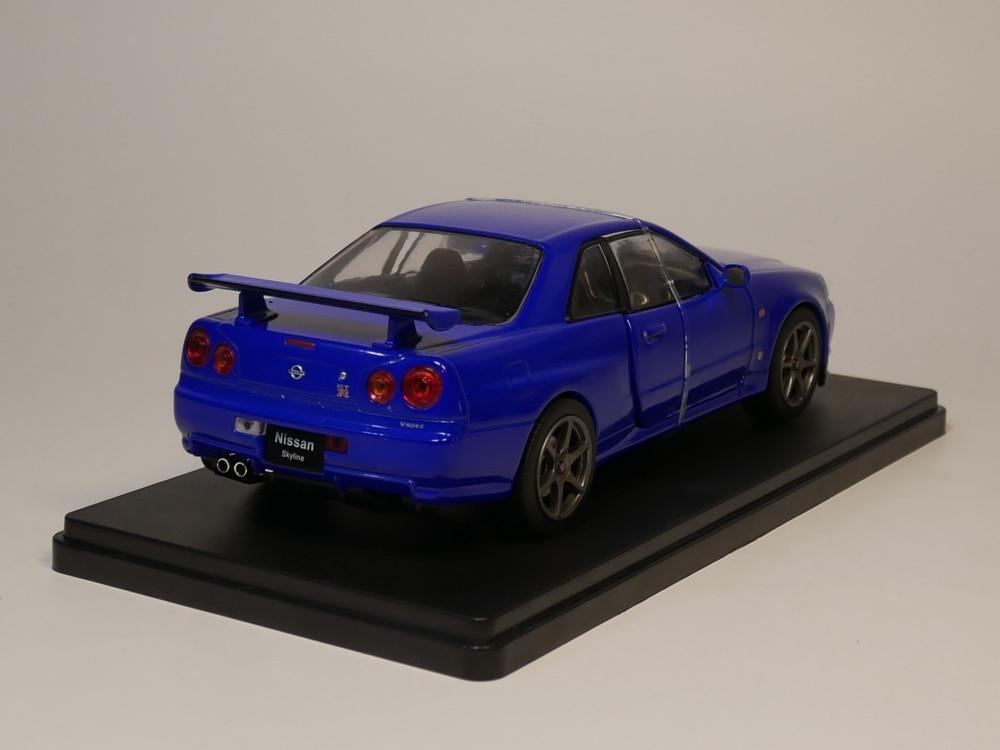 Nissan Skyline Gtr 1999 >> Big Discount Be159 Hachette 1 24 Nissan Skyline Gt R
