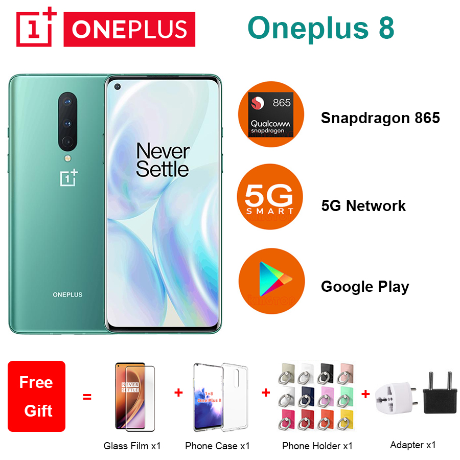 Global ROM Oneplus 8 5G Mobile Phone 6.55