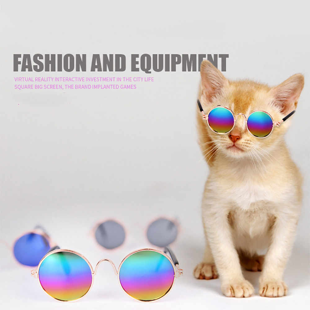 Pet Cat Dog Fashion Sunglasses Uv Sun Glasses Eye Protection Wear Dog Pet Glasses Pet Eyewear Waterproof Protection Goggles