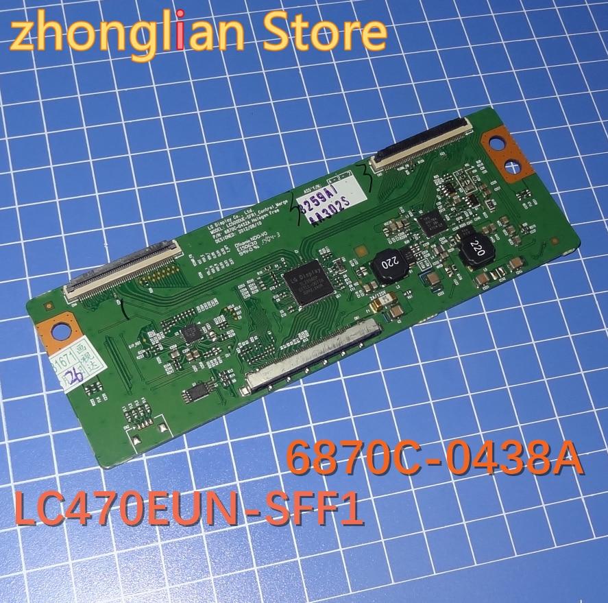 Free Shipping 2pcs  Logic Board LC470EUN-SFF1 LC470EUN 6870C-0438A 6870C New