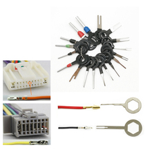 11/18/26Pcs Auto Tool Set Car Terminal Ejector Kit Pullers Electrical Wires Crimp Connector Pin Extractor Automobile Stylus