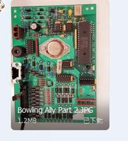 AMF Bowling Assy Mother Board CPU 232 007 110