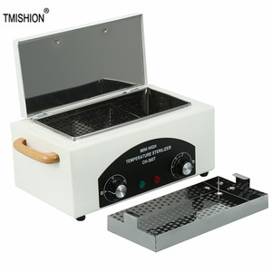 Image 1 - 300w Dry Heat High Temperature UV Sterilizer Box Nail Art Tool Sterilizer Box Hot Air Disinfection Cabinet For Manicure Salon