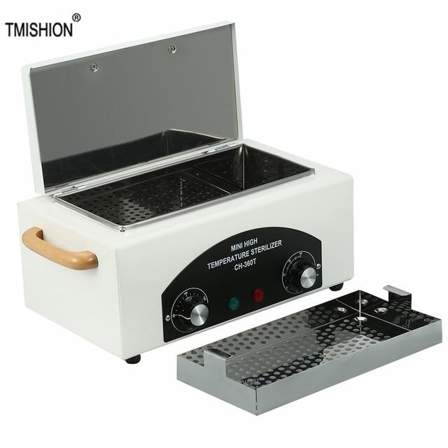 300w Dry Heat High Temperature UV Sterilizer Box Nail Art Tool Sterilizer Box Hot Air Disinfection Cabinet For Manicure Salon