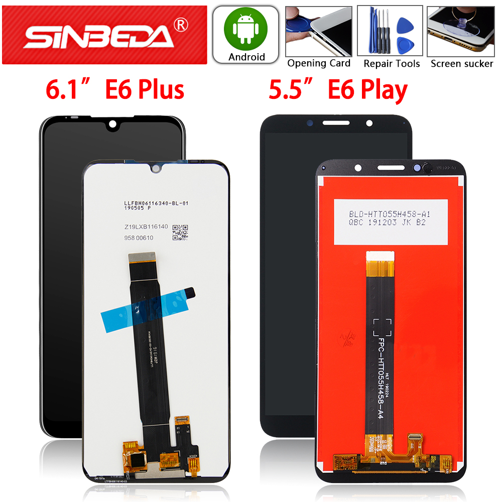 Original For Motorola Moto E6 Play XT2029 XT2029-1 LCD Display Touch Screen Digitizer For Moto E6 Plus LCD Screen Assemble E6s