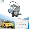 ZUK крышка багажника задний привод защелки дверного замка для HONDA FIT JAZZ 2005 2006 2007 2008 для ODYSSEY RA6 STREAM RN3