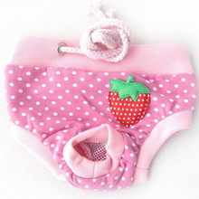 Female Pet Dog Cotton Pants Diaper Physiological Panties Underwear Sanitary Briefs Puppy Shorts Hygiene For Dogs