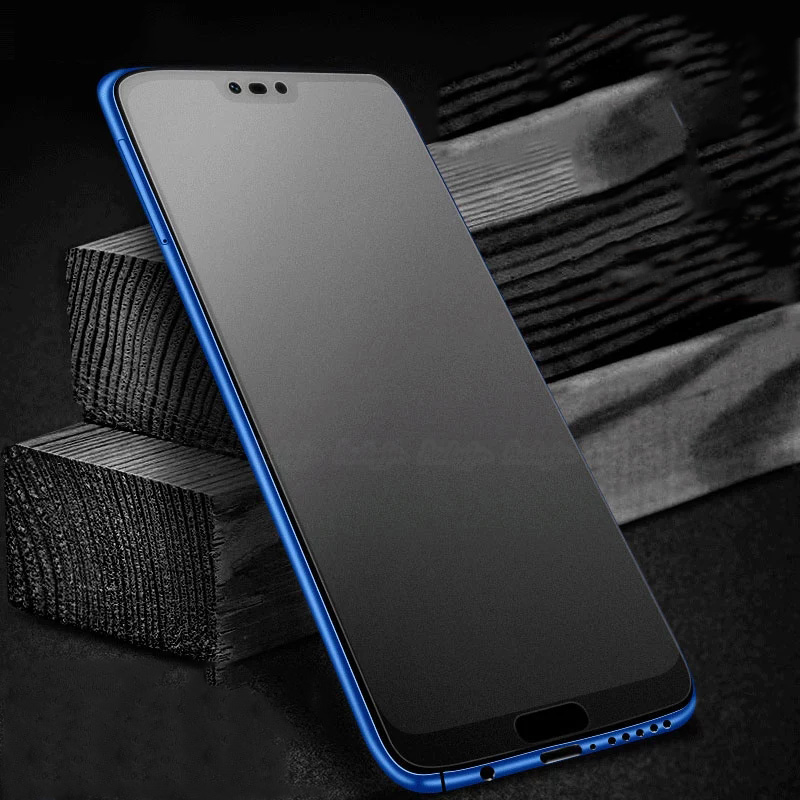 Honor 8X Max Frosted Glass Huawei Honor 7X 7A 7C Pro 6X 6A 8C 8A Pro 8S Matte Tempered Glass No Fingerprints Screen Protector