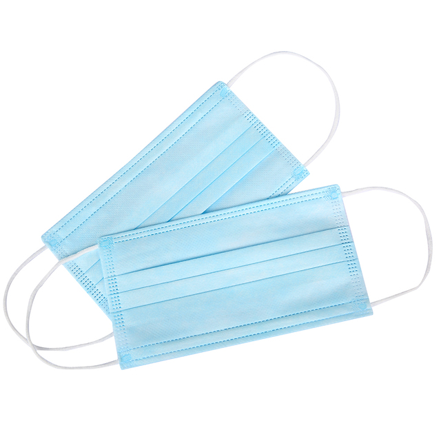 50/100Pcs Three-layer Protection Non Woven Disposable Dust Face Mouth Masks  Anti-Dust Earhook Mask Flu 5