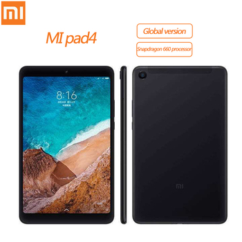 Xiaomi MI Pad 4 Tablet 8,0 4GB + 64GB 98 nueva pulgadas Android Snapdragon 660 Core 8 Tablet WIFI LTE HD pantalla 6000 mAh MIUI 9,0 PC