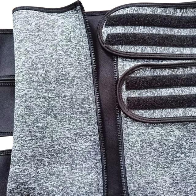 waist trainer corset sweat belt for women waist trainer body shaper tummy slimming corset weight loss compression trim belt 5