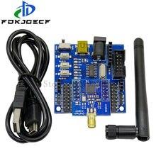 Cc2530 zigbee módulo uart placa de núcleo sem fio + sensor nó placa base desenvolvimento cc2530f256 porta serial sem fio 2.4ghz