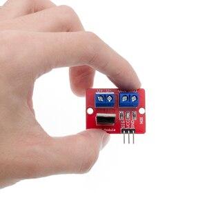 Image 5 - 100 pçs/lote TOP Botão IRF520 MOSFET MOSFET Módulo Driver para ARM Raspberry pi