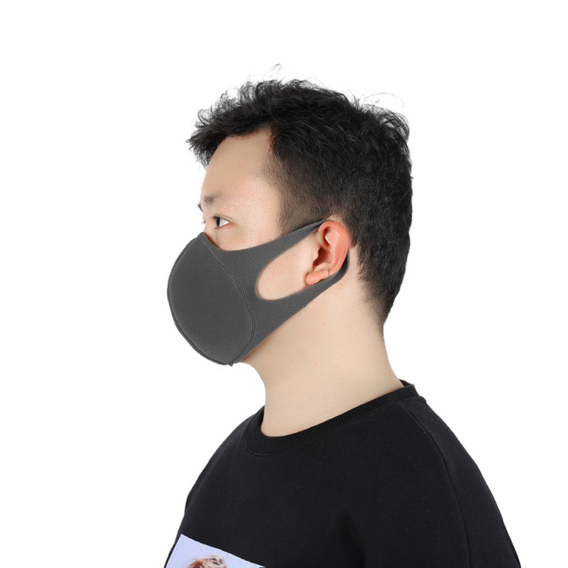 Integrated Reusable Coronavirus Mouth Mask Dust-proof And Breathable Safety Sponge Face Mask Fast Drop Shipping Hot 2