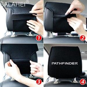 Image 3 - Reposacabezas de coche cubierta cabeza descanso del cuello cojín para asiento cubre para Peugeot GT 207, 307, 407, 507, 508, 408, 308, 206, 406, 5008, 3008 deporte